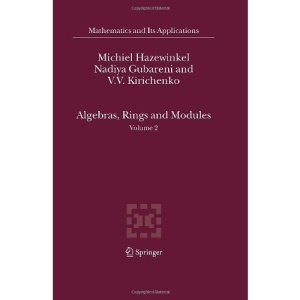 Algebras, Rings and Modules: Volume 2: v. 2 (Mathematics and Its Applications)
