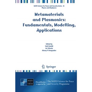 Metamaterials and Plasmonics: Fundamentals, Modelling, Applications (NATO Science for Peace and Security Series B: Physics and Biophysics)