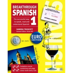Breakthrough Spanish 1 Euro Book and Cd Pack