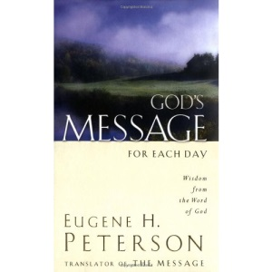 God's Message for Each Day: Wisdom from the Word of God