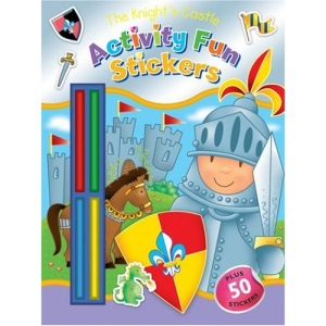 The Knight's Castle: Activity Fun Stickers (Activity Fun Stickers/Crayons)