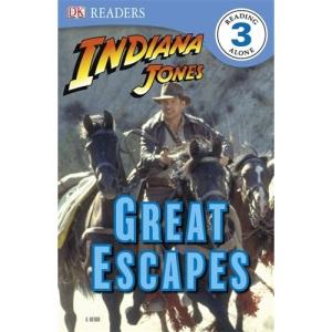 Indiana Jones's Great Escapes (DK Readers Level 3)