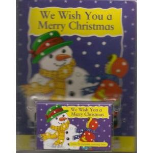 We Wish You a Merry Christmas (Christmas Book & Tape)