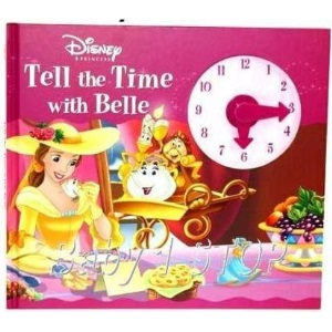 Disney Tell the Time with Belle (Disney Clock Book)