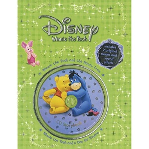 Disney Winnie the Pooh Storybook: Honey Tree/A Day for Eeyore (Book & CD)