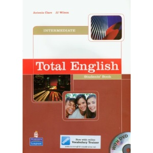 Total English Intermediate Student's Book and DVD Pack
