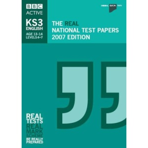 The Real National Test Papers, 2007 Edition (QCA KS3 English)