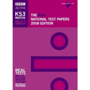 The Real National Test Papers 2008 Edition (KS3 Maths): KS3 Maths (QCA) (Qualifications and Curriculum Authority)