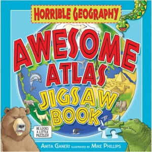 Awesome Atlas Jigsaw Book (Horrible Geography)