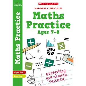 Maths practice book for ages 7-8 (Year 3). Perfect for Home Learning. (100 Practice Activities)