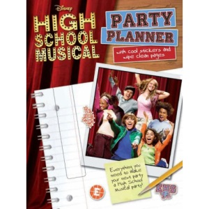Disney High School Musical Activity Book Party Planner