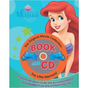 Disney Little Mermaid Storybook & CD (Disney Book & CD)