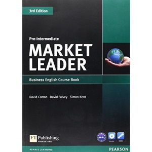 Market Leader Pre-intermediate Coursebook & DVD-rom Pack