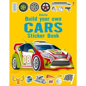 Build Your Own Cars Sticker Book (Build your own sticker books): 1