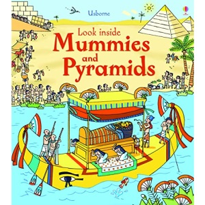 Look Inside Mummies & Pyramids: 1
