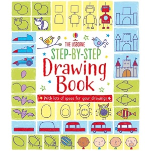 Step-by-step Drawing Book: 1