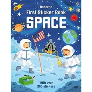 First Sticker Book Space (First Sticker Books series)