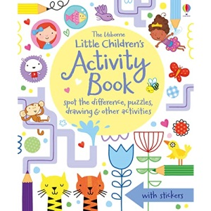 Little Children's Activity Book: Spot the Difference, Puzzles and Drawing: 1