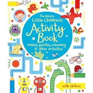 Little Children's Activity Book: Mazes, Puzzles and Colouring: 1 (Little Children's Activity Books)