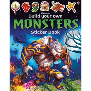 Build Your Own Monsters Sticker Book (Build Your Own Sticker Book): 1