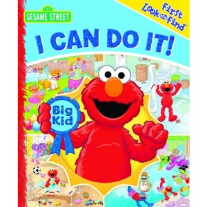 Sesame Street I Can Do It! (First Look and Find)