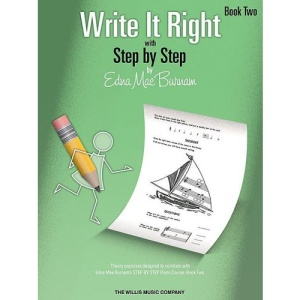 Write It Right with Step by Step, Book Two