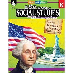180 Days of Social Studies for Kindergarten: Practice, Assess, Diagnose (180 Days of Practice)