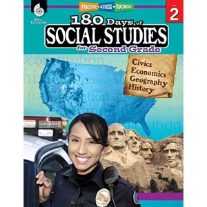 180 Days of Social Studies for Second Grade: Practice, Assess, Diagnose (180 Days of Practice)