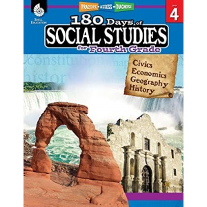 180 Days of Social Studies for Fourth Grade: Practice, Assess, Diagnose (180 Days of Practice)