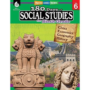 180 Days of Social Studies for Sixth Grade: Practice, Assess, Diagnose (180 Days of Practice)