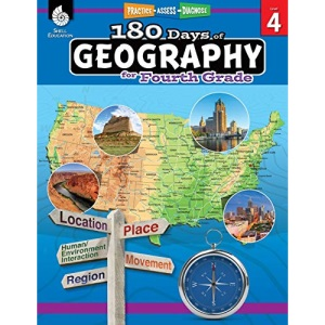 180 Days of Geography for Fourth Grade: Practice, Assess, Diagnose (180 Days of Practice)