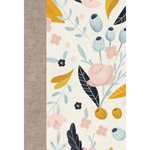 Large Print Compact Bible-ESV-Spring Bloom