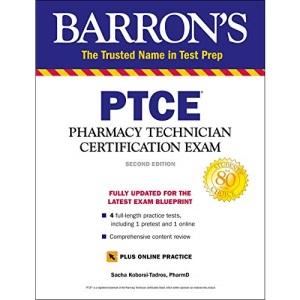 PTCE with Online Test: Pharmacy Technician Certification Exam (Barron's Test Prep)