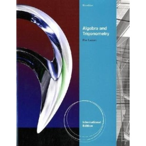 Algebra and Trigonometry, International Edition