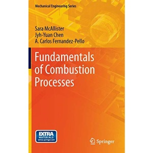 Fundamentals of Combustion Processes (Mechanical Engineering Series)