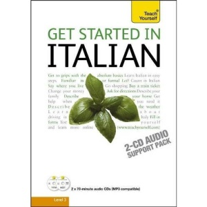 Get Started in Italian: Teach Yourself (Audio Support)