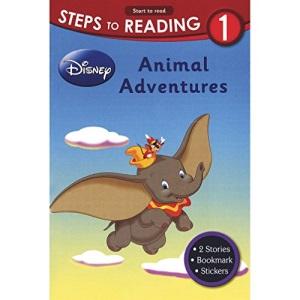Disney Learning: Steps To Reading Level 1 - Animal Adventures (Disney Reading)