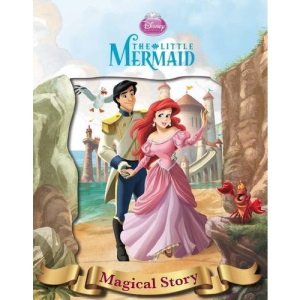 Disney Little Mermaid Magical Story with Lenticular Front Cover
