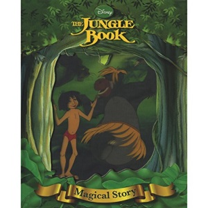 Disney's Jungle Book Magical Story with Lenticular Front Cover