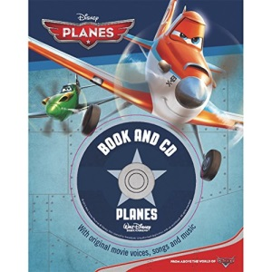 Disney Planes Book and CD