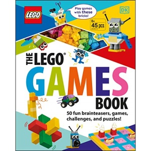 The Lego Games Book: 50 Fun Challenges, Brainteasers, Puzzles and Games
