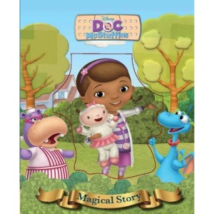 Disney Doc McStuffins Magical Story with Lenticular Front Cover (Magical Story Lenticular Cover)