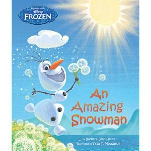 Disney Frozen An Amazing Snowman Story Book