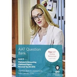 AAT Personal Tax FA2015: Question Bank