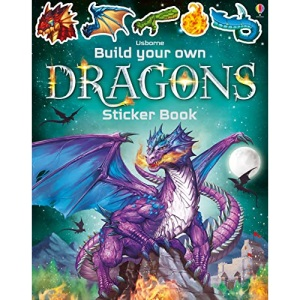 Build Your Own Dragons Sticker Book (Build Your Own Sticker Book): 1