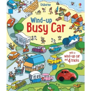 Wind-Up Busy Car (Wind-up Books): 1
