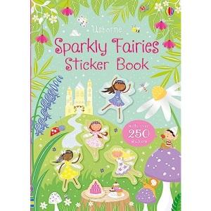 Sparkly Fairies Sticker Book (Sparkly Sticker Books)
