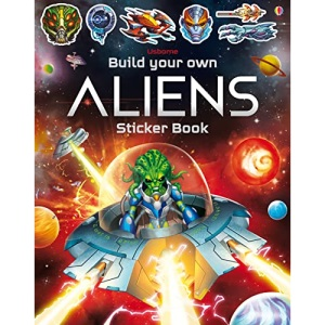 Build Your Own Aliens Sticker Book (Build Your Own Sticker Book): 1