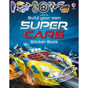 Build Your Own Supercars Sticker Book (Build Your Own Sticker Book): 1