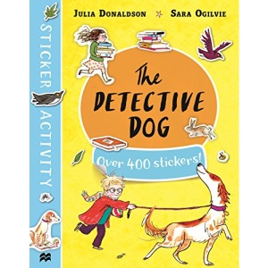 The Detective Dog Sticker Book